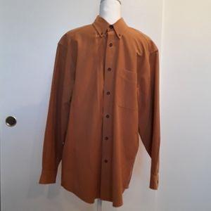 🧡💛Men's Gold Woolrich Warm Flannel Shirt Size M